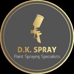 D K Spray Logo